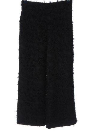 Zara Woman Baggy broek zwart casual uitstraling