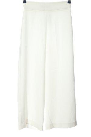 Zara Woman Baggy Pants weiß Casual-Look