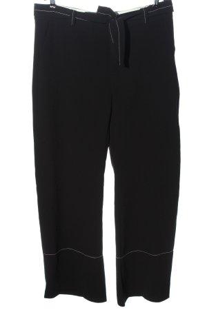 Zara Woman Baggy Pants schwarz klassischer Stil