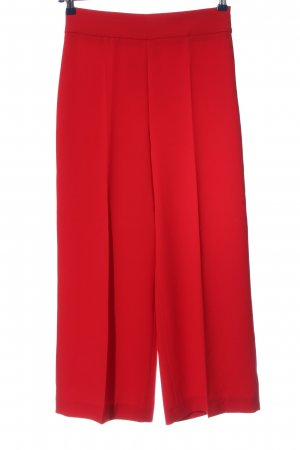 Zara Woman Baggy Pants red casual look