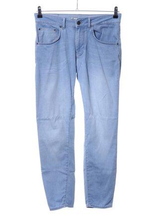 Zara Woman Baggy jeans blauw casual uitstraling