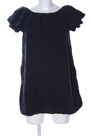 Zara Woman Bandeaukleid schwarz Casual-Look