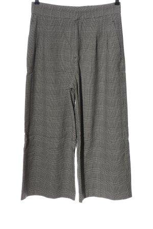 Zara Woman Culottes weiß-schwarz Allover-Druck Casual-Look
