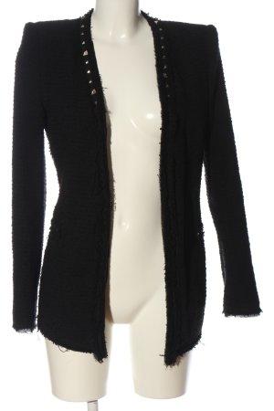 Zara Woman Kurtka typu biker czarny W stylu casual