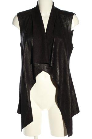 Zara Woman Biker vest zwart casual uitstraling
