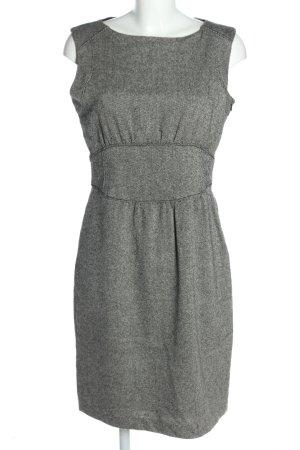 Zara Woman Robe crayon blanc-noir style d'affaires