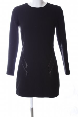 Zara Woman Abito longuette lilla stile casual