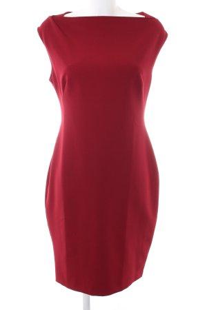 Zara Woman Falda estilo lápiz rojo elegante