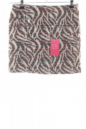 Zara Woman Bleistiftrock abstraktes Muster Business-Look