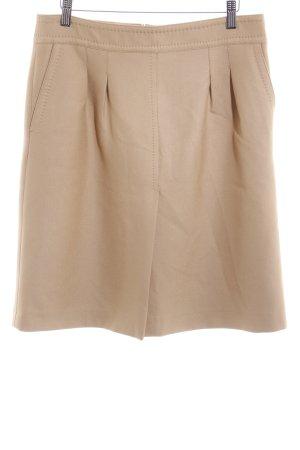 Zara Woman Bleistiftrock camel schlichter Stil