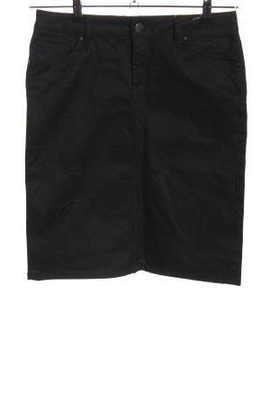 Zara Woman Bleistiftrock schwarz Casual-Look