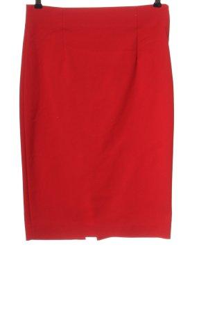 Zara Woman Bleistiftrock rot Elegant