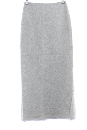 Zara Woman Bleistiftrock hellgrau-flieder Business-Look