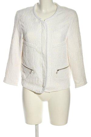 Zara Woman Blouson weiß Business-Look