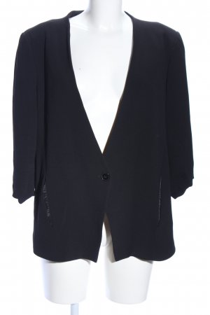 Zara Woman Blouson schwarz Business-Look