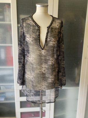 Zara Woman Bluse Gr M transparent