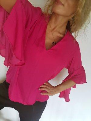 Zara woman bluse gr s 36 neu leicht fliessend