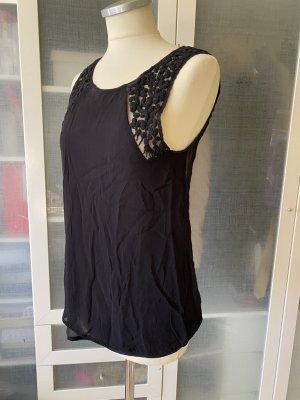 Zara Woman Bluse mit Spitze Gr. M top