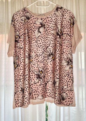 ZARA Woman Bluse T-shirt Rose