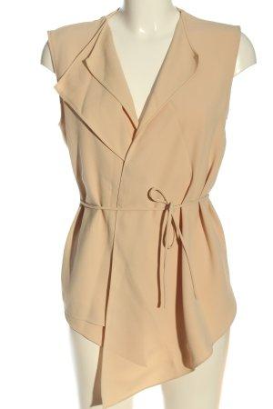 Zara Woman Blusenjacke nude Business-Look
