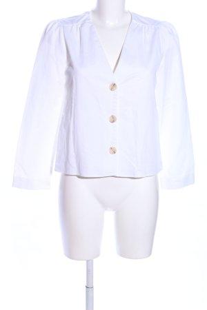 Zara Woman Blusenjacke weiß Elegant