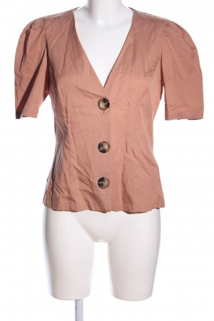 Zara Woman Blusenjacke nude Casual-Look