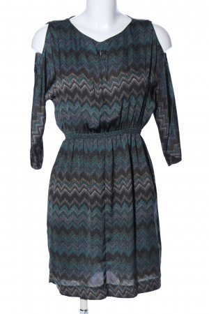 Zara Woman Blusenkleid grafisches Muster Casual-Look