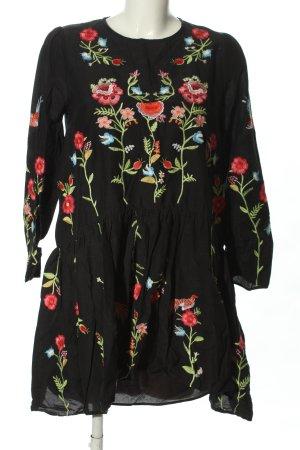 Zara Woman Blousejurk volledige print casual uitstraling