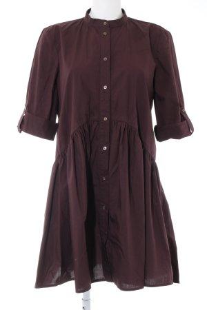 Zara Woman Robe chemisier brun style décontracté