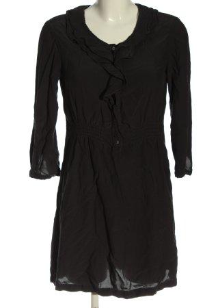 Zara Woman Blusenkleid braun Casual-Look