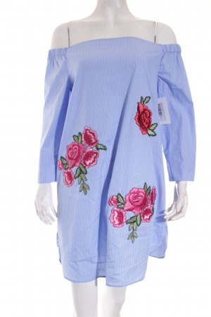 Zara Woman Blusenkleid florales Muster Off Shoulder