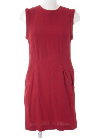 Zara Woman Blusenkleid rot Casual-Look