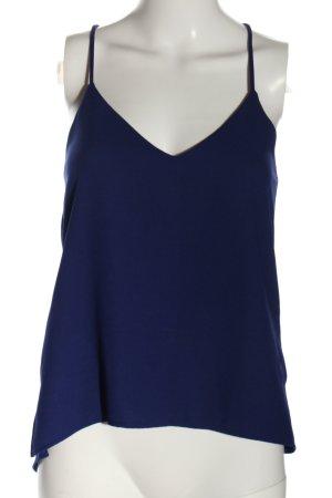 Zara Woman Blusentop blau Casual-Look