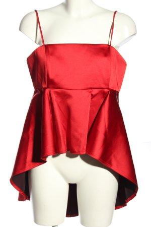 Zara Woman Blusentop rot Elegant