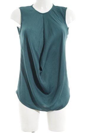 Zara Woman Blusentop türkis Elegant