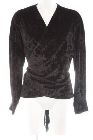 Zara Woman Bolerko czarny Elegancki