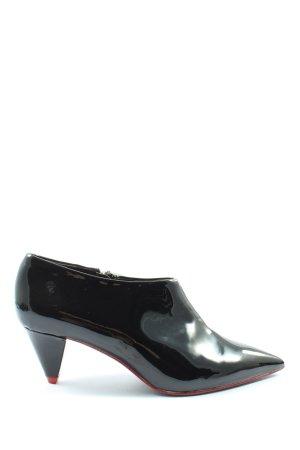 Zara Woman Booties schwarz Elegant