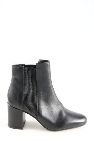 Zara Woman Booties schwarz Casual-Look