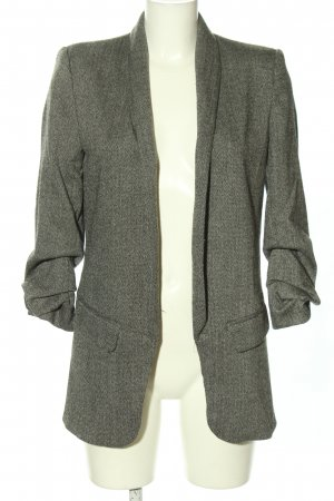 Zara Woman Boyfriend-Blazer hellgrau Business-Look