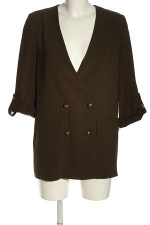 Zara Woman Boyfriend-Blazer khaki Business-Look