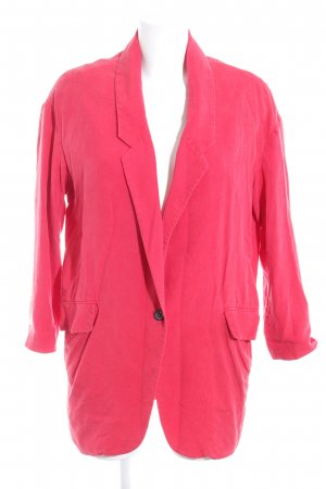 Zara Woman Boyfriend-Blazer hellrot Casual-Look