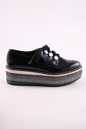 Zara Woman Budapest schoenen zwart casual uitstraling