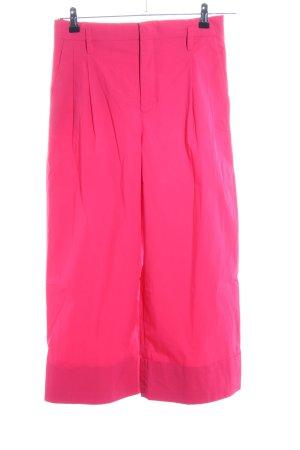 Zara Woman Bundfaltenhose pink Casual-Look