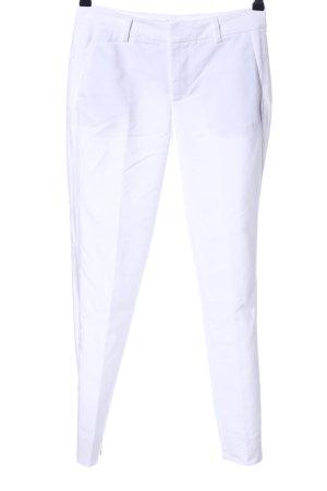 Zara Woman Bundfaltenhose weiß Casual-Look