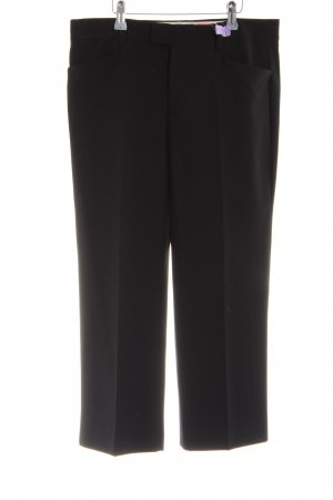 Zara Woman Bundfaltenhose schwarz Casual-Look