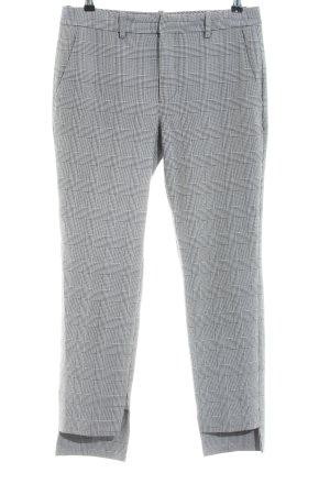 Zara Woman Bundfaltenhose Allover-Druck Business-Look