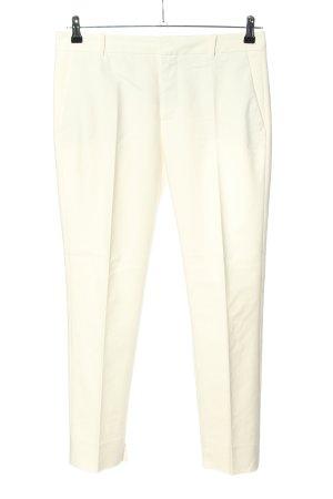 Zara Woman Bundfaltenhose creme Business-Look