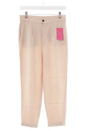 Zara Woman Bundfaltenhose mehrfarbig Business-Look