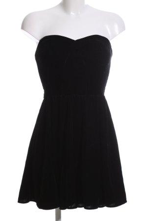 Zara Woman Robe bustier noir élégant