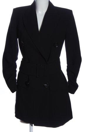 Zara Woman Cappotto stile pilota nero stile casual